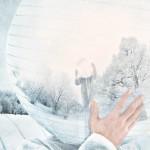 M_LunE 13 FR Vivant, IL a créé son monde intime. IL est au monde et le monde est à LUI. IL est à l'image du monde et le monde est à son image. Rêve et réalité enfin sont unifiés. L'Être est né à lui-même. IL se rejoint en un PleiN. Un TouT. Un RonD.  DE Mit Leben erfüllt hat ER seine innere Welt erschaffen. ER gehört der Welt und die Welt gehört IHM. ER ist ein Abbild der Welt, und die Welt ist nach seinem Abbild. Traum und Wirklichkeit sind vereint. Das Sein ist aus sich selbst geboren. Er vereint sich im Vollen. Im Ganzen. Im Runden.